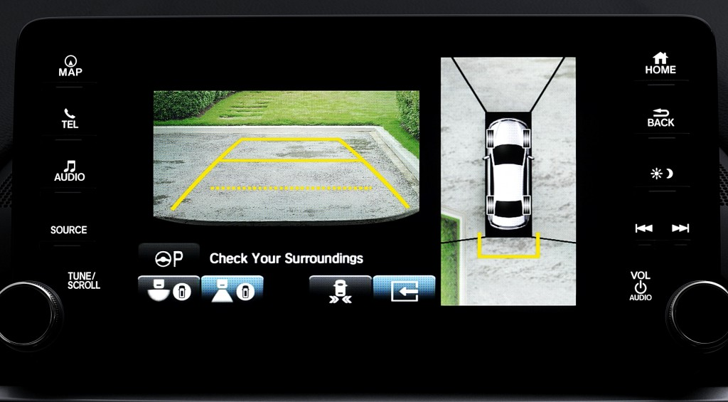 All-new Accord_Multi-View Camera System