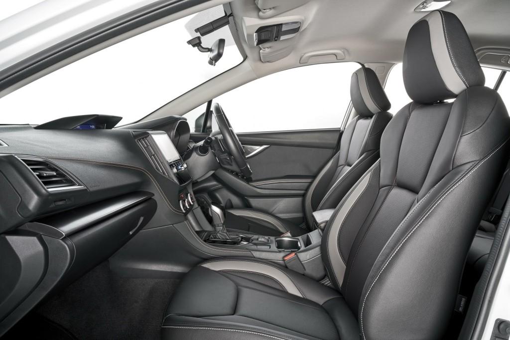 Subaru XV GT Edition interior_re