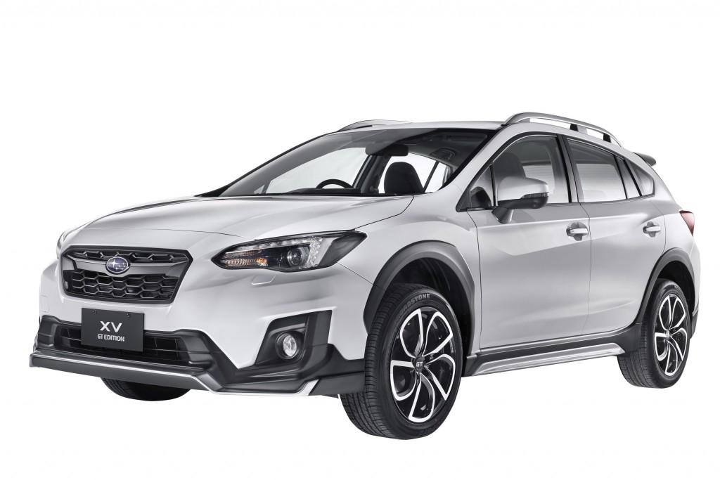 Subaru XV GT Edition white front_re