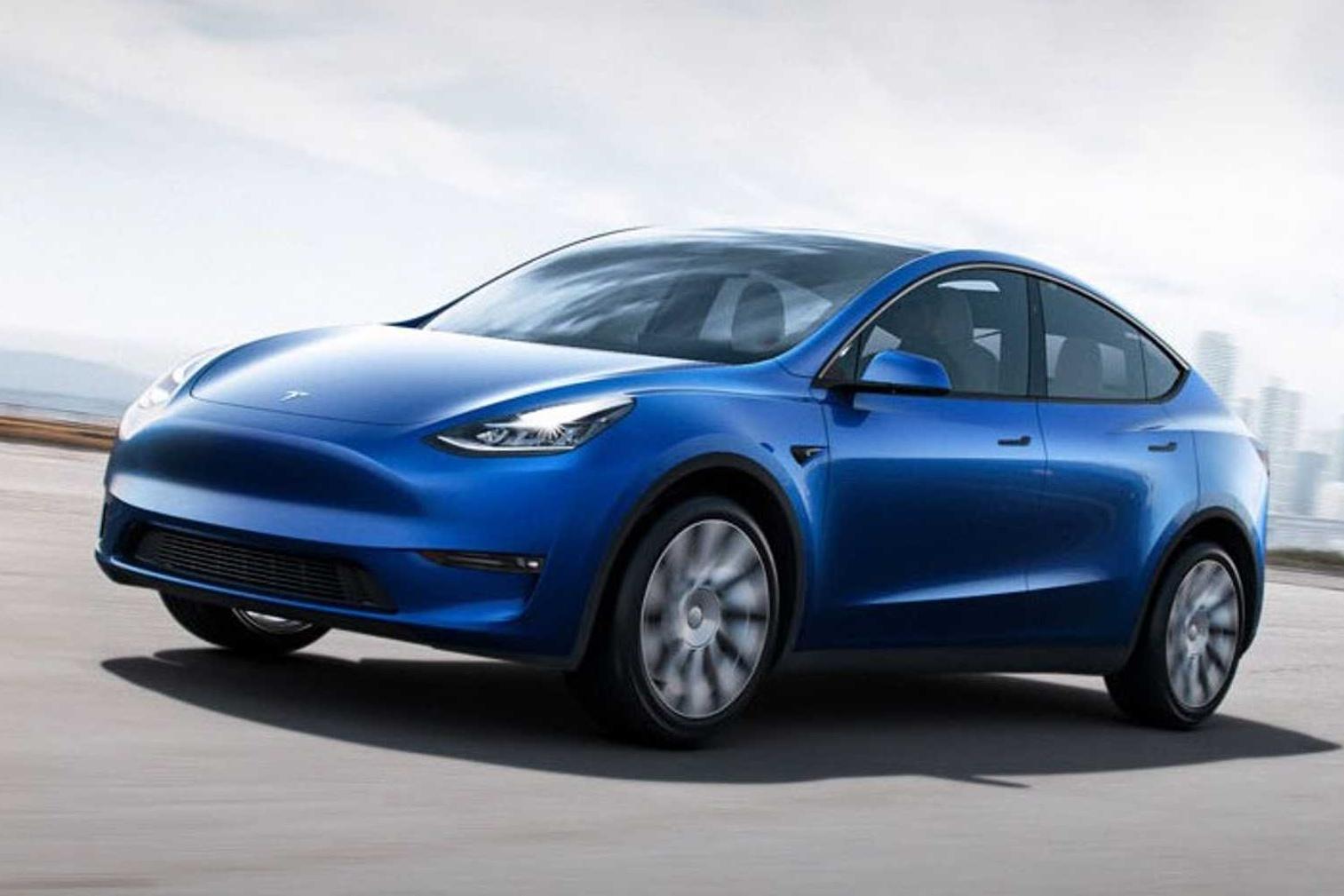 Tesla Model Y ครอสส์โอเวอร์พลังงานไฟฟ้า ขนาดกะทัดรัด หลาก