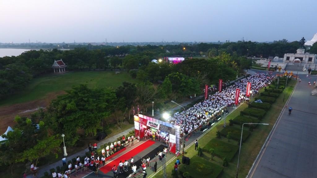 บรรยากาศกิจกรรม Honda RUN We Share Wheelchair_Top view_1