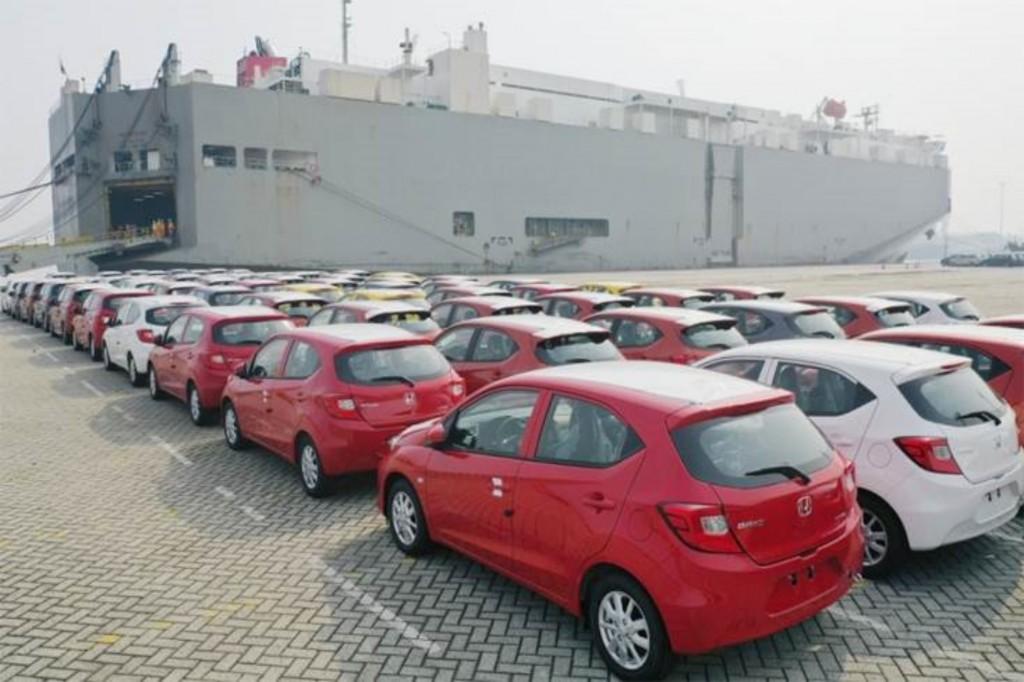 Honda อินโดนีเซีย ส่งออก Brio