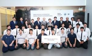 บีเอ็มดับเบิลยู กรุ๊ป ประเทศไทย สนับสนุนนักศึกษาอาชีวะไทย