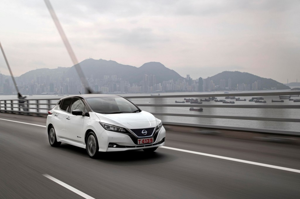 During Nissan Futures, participants got the opportunity to test drive the new Nissan LEAF Ð the icon of Nissan Intelligent Mobility Ð on the streets of Hong Kong.