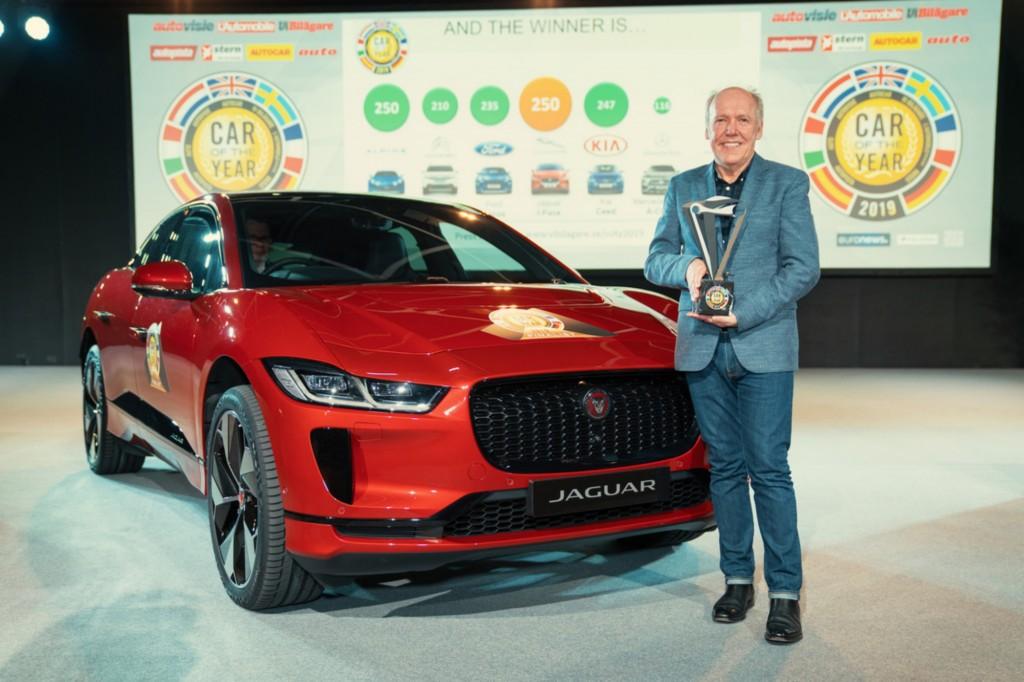 รถไฟฟ้า Jaguar I-Pace คว้ารางวัล รถยอดเยี่ยมแห่งปี 2019 ถึง 2 รางวัลซ้อน ! European Car of the Year 2019 และ World Car of the Year 2019