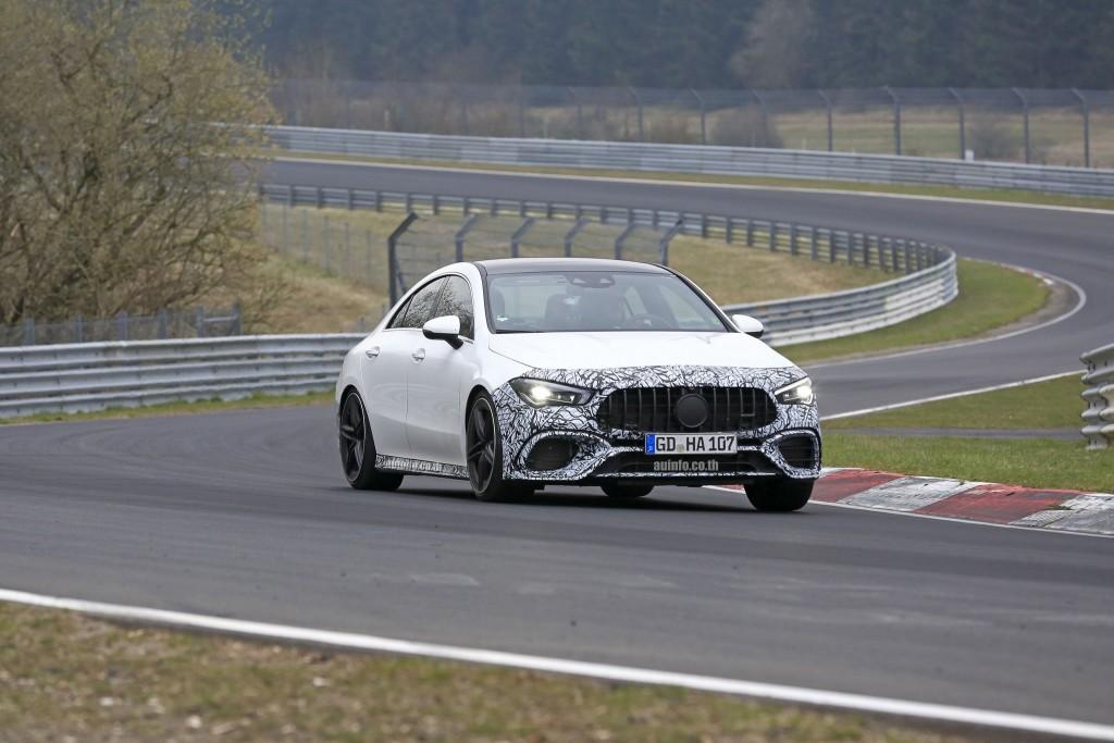Mercedes-AMG CLA 45 ซีดานสปอร์ทจี๊ดจ๊าดโมเดลใหม่