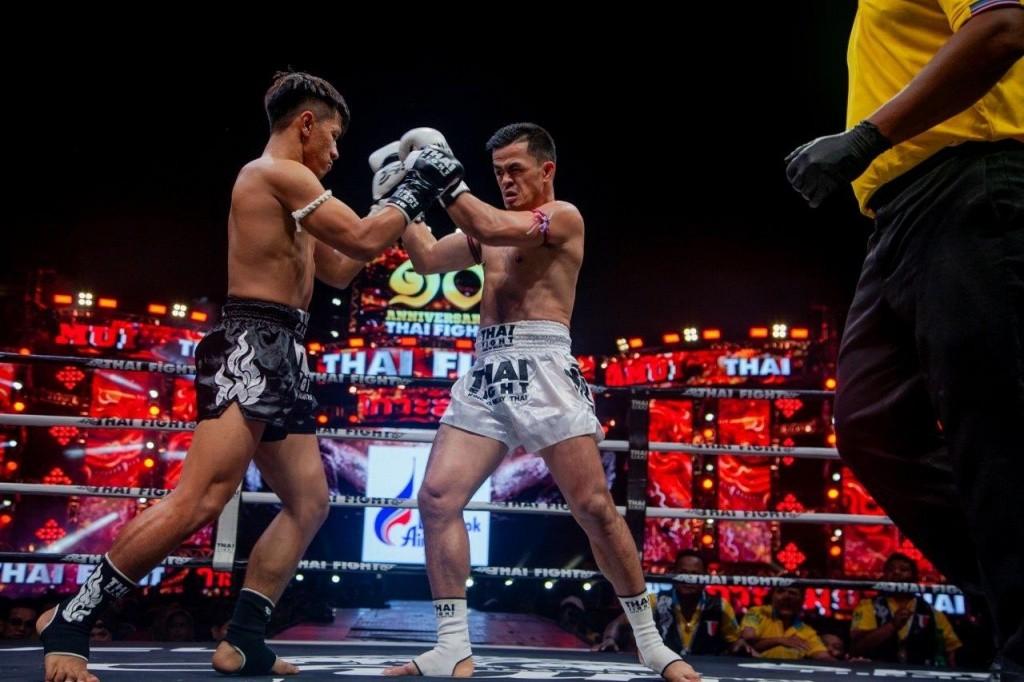 การประชันหมัดของคู่ Isuzu Cup Super Fight 2019