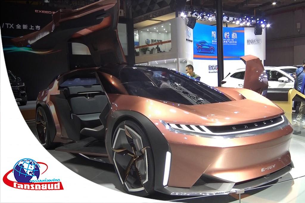 มหกรรมยานยนต์ Auto Shanghai 2019 ตอน 1