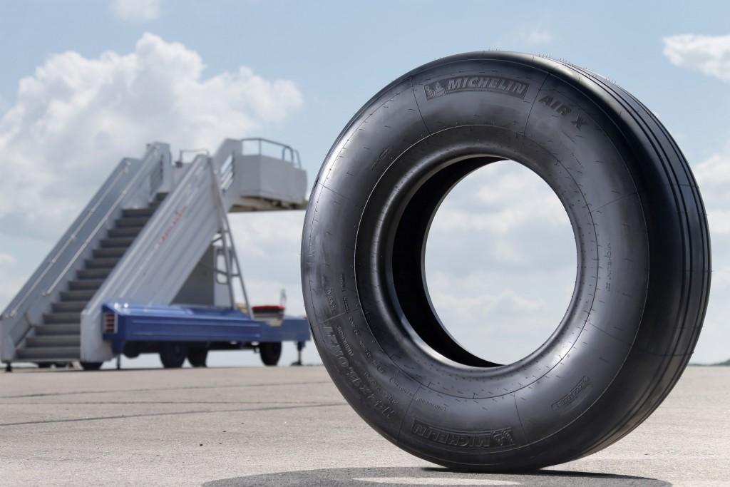 มิเชอแลง ครองตำแหน่งผู้จัดส่งยางล้อเครื่องบิน