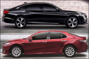 เทียบสเปคเบื้องต้น และราคาของ Honda Accord และ Toyota Camry