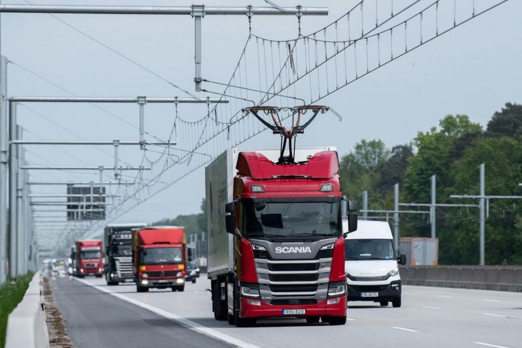 eHighway ทางหลวงไฟฟ้าแห่งแรกของโลก