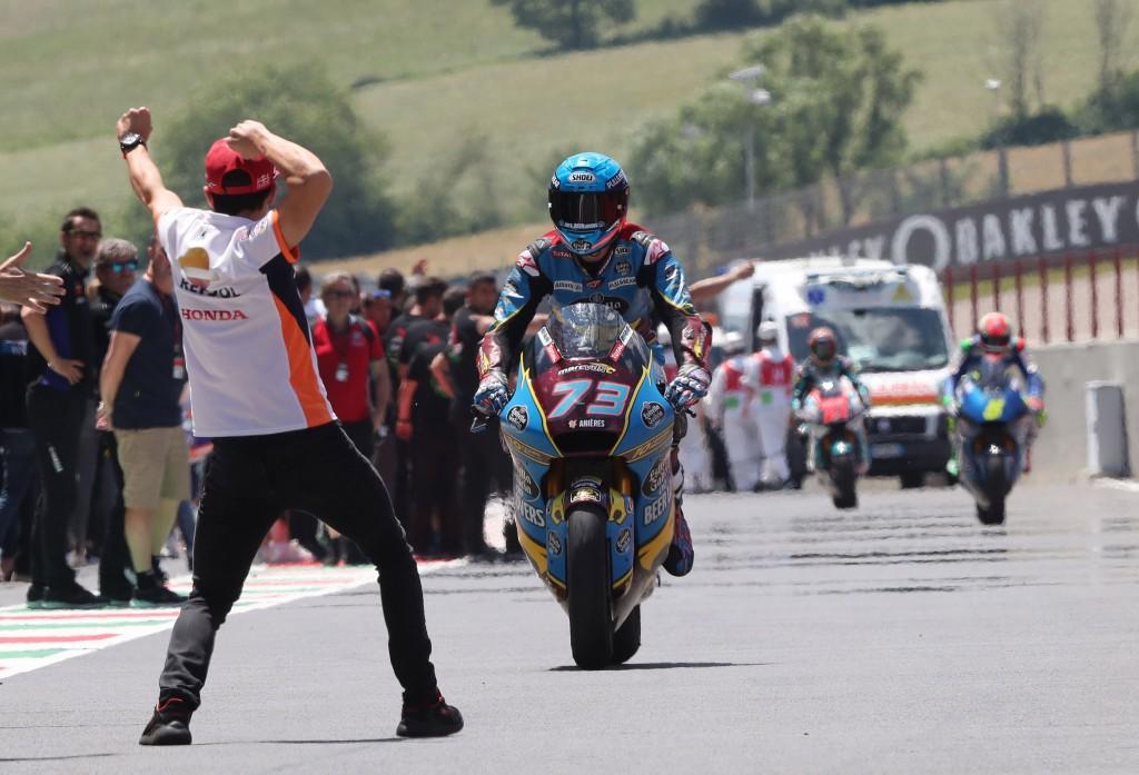 Marc and Alex Marquez, Moto2 race Italian MotoGP 2019
