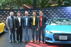 Audi ประเทศไทย เขย่าตลาดรถสปอร์ท เดินหน้าเปิดตัว The New Audi TT Roadster ครั้งแรกในประเทศไทย