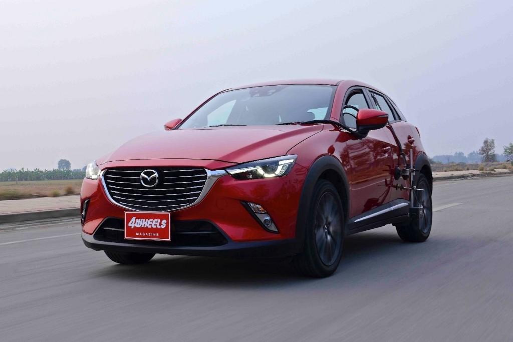 Mazda CX-3 ทดสอบ