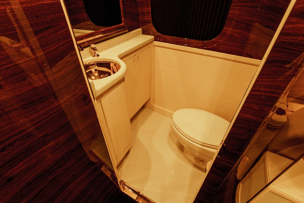 G:77 Sky Master restroom by Lexani Motorcars