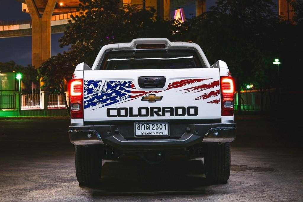 Chevrolet Colorado 4th July Edition_Back 1102-Edit