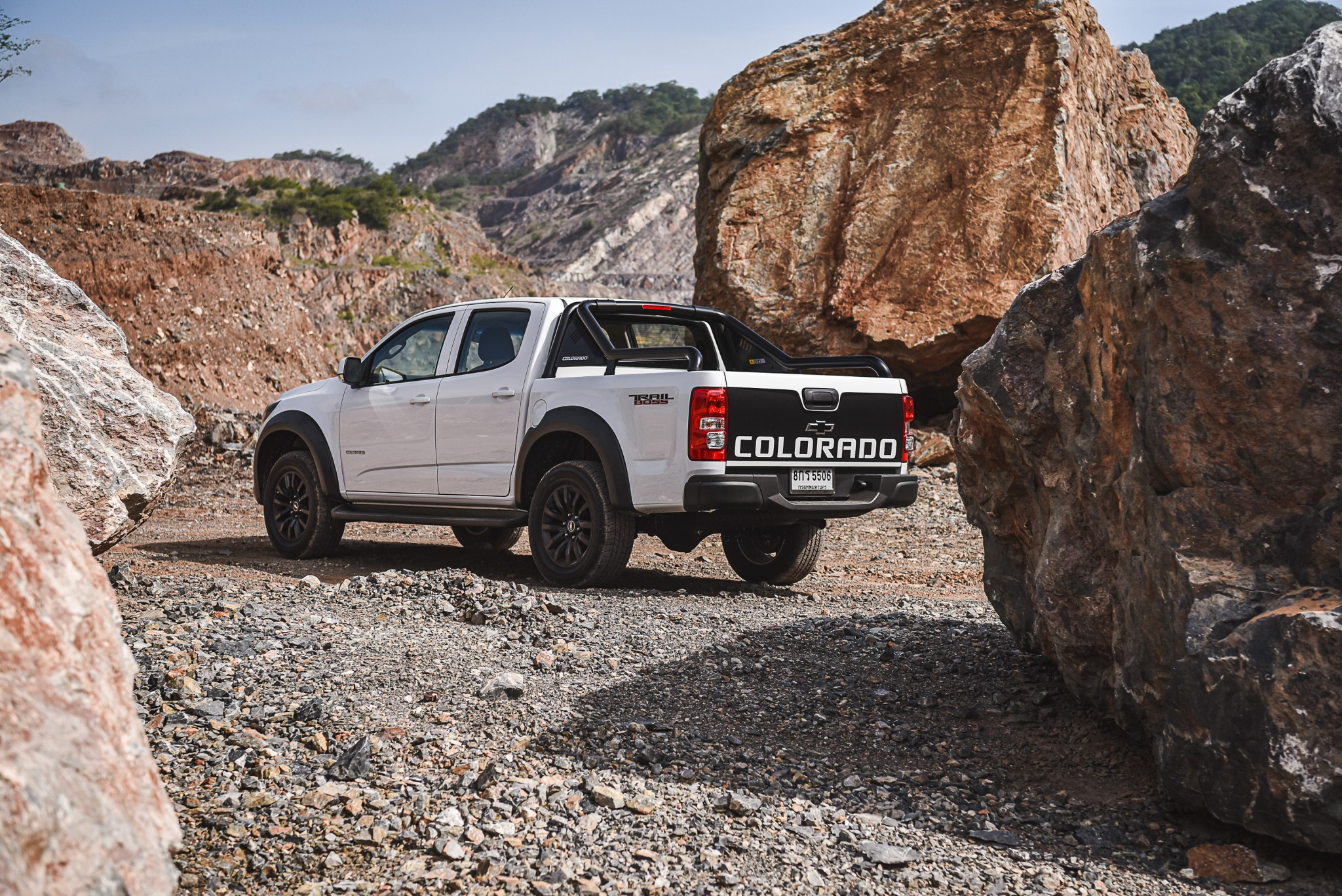 Chevrolet Colorado Trail Boss_R3Q quarry
