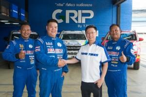 ยาง โตโย ไทร์ส์ หนุน จุ๊บซ่า คว้าแชมพ์  Asia Cross Country Rally 2019
