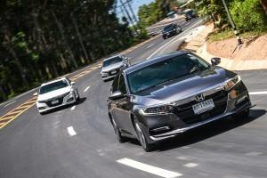 Honda Accord Hybrid Tech ประหยัดได้ใจ ปลอดภัยกว่าเดิม