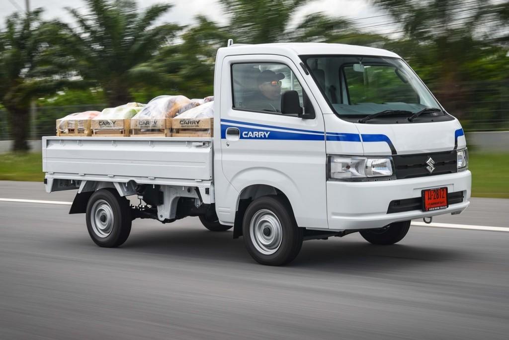 ทดลองขับ Suzuki Carry รุ่นใหม่ รองรับงานบรรทุกที่หลากหลาย ขับสบายกว่าเดิม