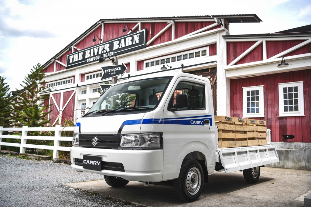 test suzuki carry