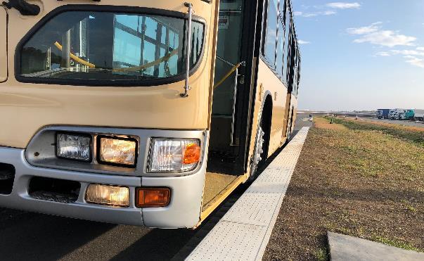 ระบบท่าเทียบรถโดยสารของ บริดจ์สโตน พร้อมติดตั้งในที่พักนักกีฬา