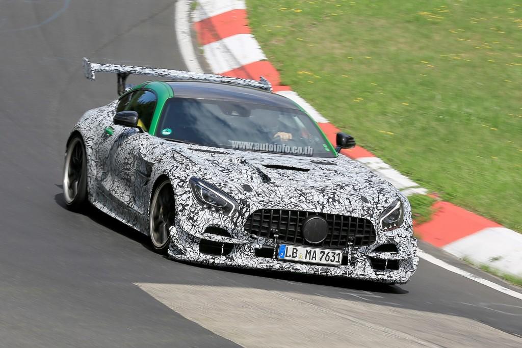 Mercedes-AMG GT Black Series แรงไม่รอ GT R