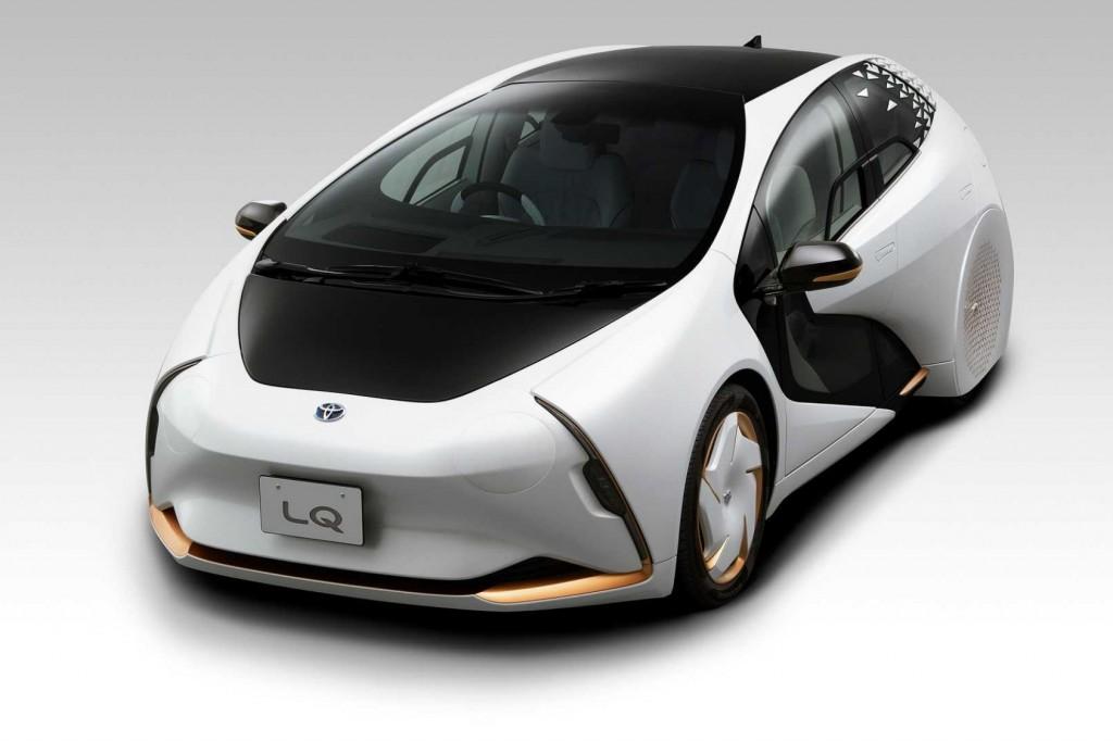 Toyota เปิดตัว LQ Concept รถไฟฟ้าที่รู้ใจผู้ขับขี่