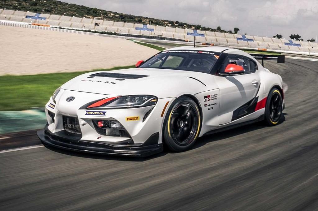 Toyota Supra GT4 ตัวแข่งในคลาสส์ GT4 ที่เข้าถึงง่ายขึ้นในสนามแข่ง กำลังสูงสุด 429 แรงม้า