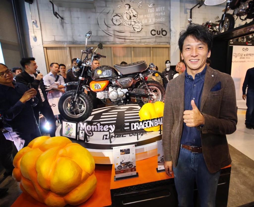 คุณชิเกโต คิมูระ ประธ่นกรรมการบริษัท เอ.พี.ฮฮนด้า จำกัด