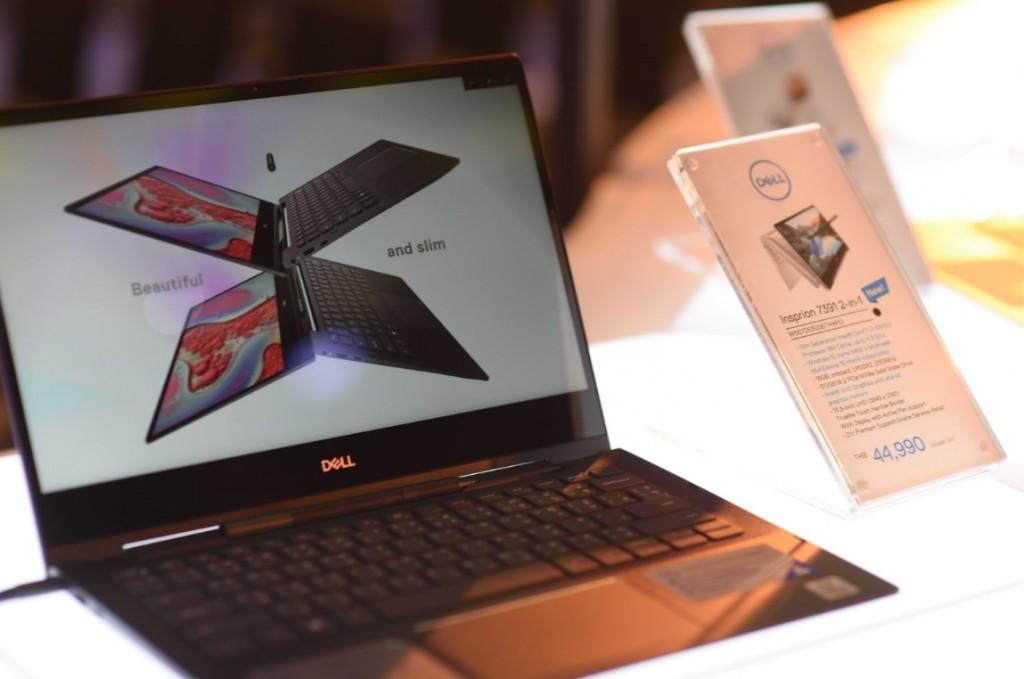 Dell แลพทอพขุมพลัง Intel Core รุ่นที่ 10
