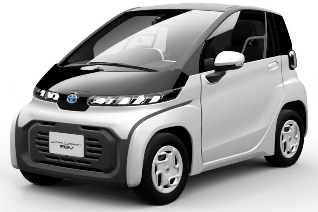 Toyota แนะนำรถไฟฟ้าสำหรับผู้สูงอายุ