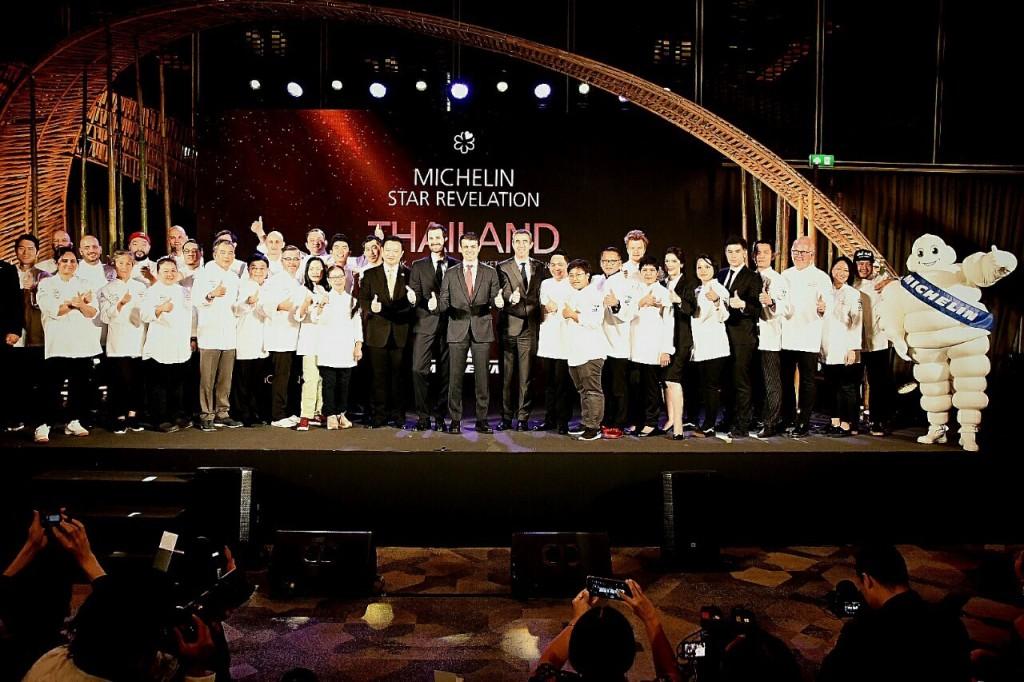 มิเชอแลง มอบรางวัล Michelin Star