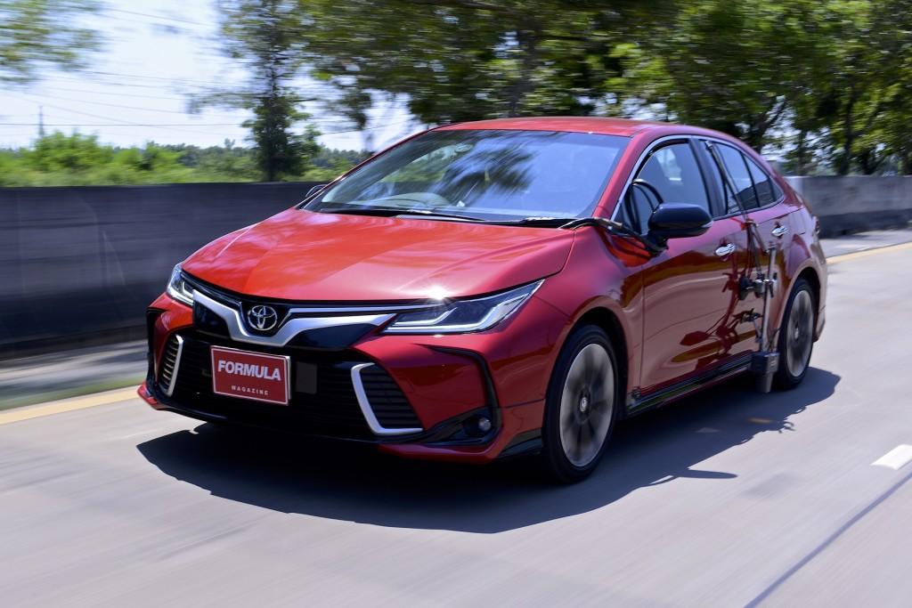 [ทดสอบ] พิสูจน์อัตราเร่ง และอัตราสิ้นเปลืองเชื้อเพลิงของ Toyota Corolla Altis GR Sport : ราคา 999,000 บาท
