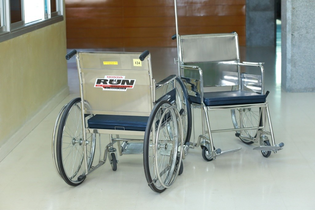 Honda RUN We Share Wheelchair-รถเข็น