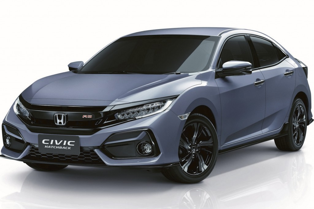 New Civic Hatchback RS_Front cover