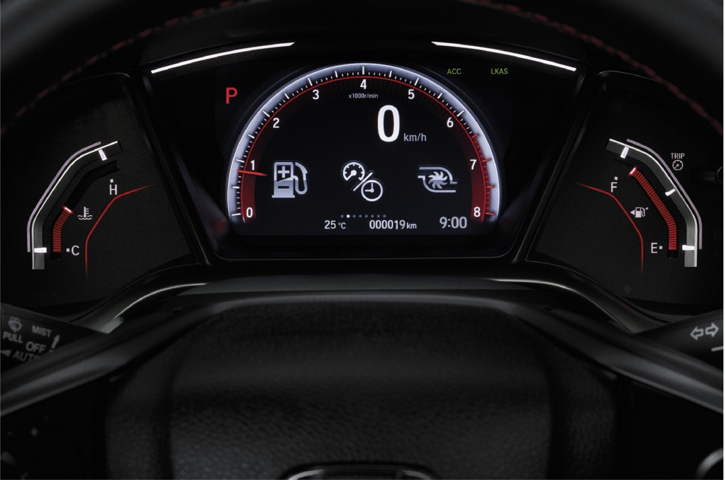 New Civic Hatchback RS_Multi-Information Display