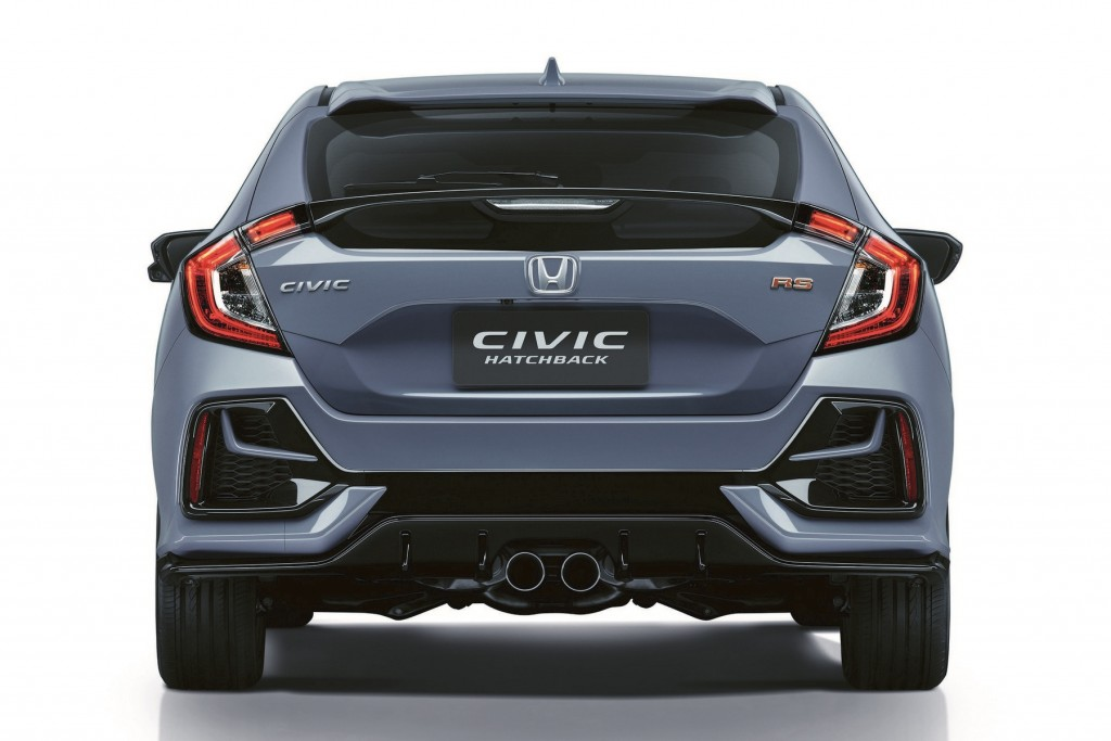 New Civic Hatchback RS_Rear 1
