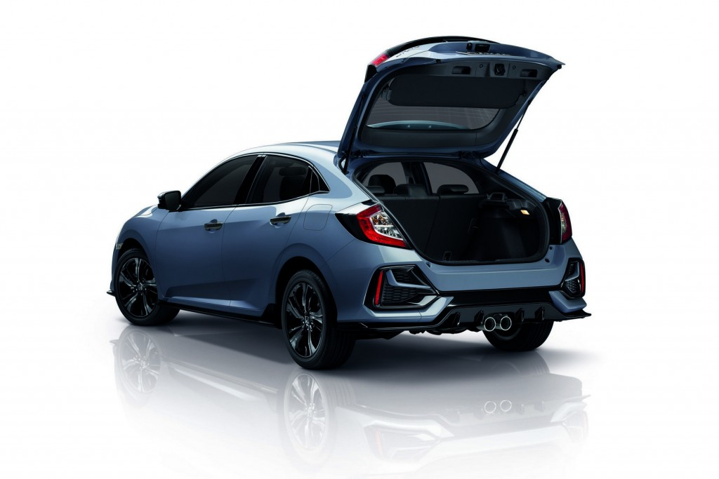 New Civic Hatchback RS_Rear Open
