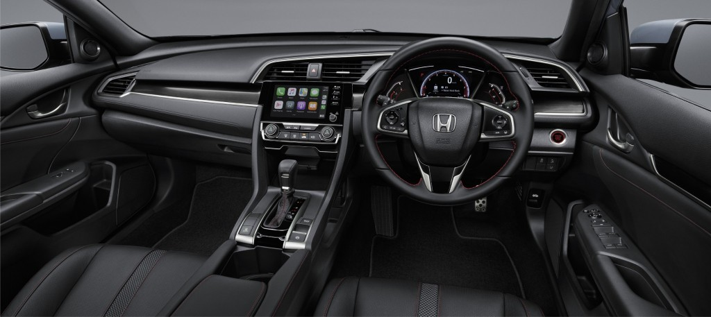 New Civic Hatchback RS_Utility