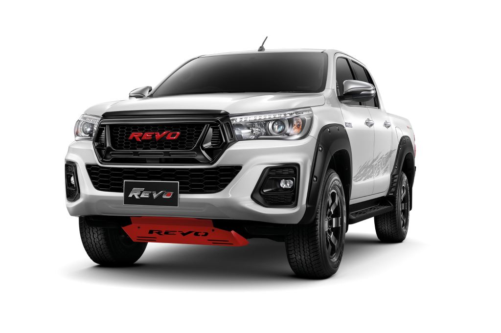 Toyota Hilux Revo เสริมชุดแต่งเพิ่มมาดเข้ม พร้อมกล่องเพิ่มสมรรถนะเป็น 204 แรงม้า ! (สำหรับรุ่นเครื่องยนต์ 2.8 ลิตร)