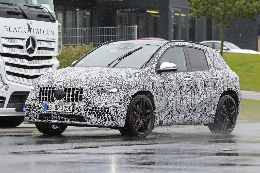 Mercedes-AMG GLA45 ครอสส์โอเวอร์รุ่นเล็ก.. พันธุ์แรง