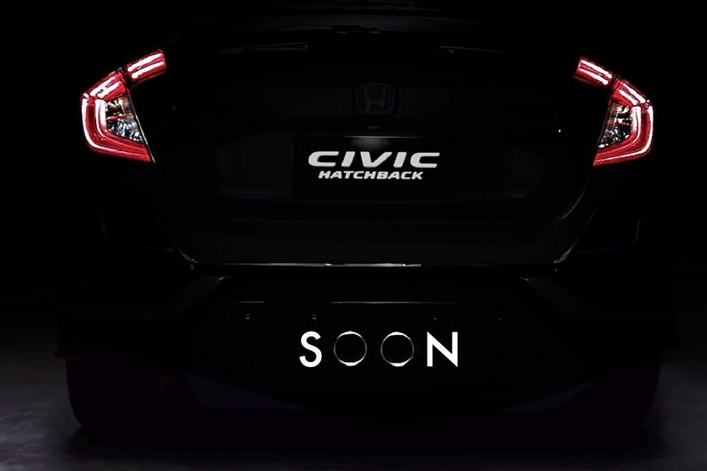 เขากำลังมา.. กับ Honda Civic Hatchback รุ่นใหม่ อดใจรออีกนิด