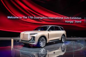 """""""หงฉี"""" เปิดตัวรถรุ่นใหม่ E115 ในงาน Guangzhou Intl Automobile Exhibition 2019"""
