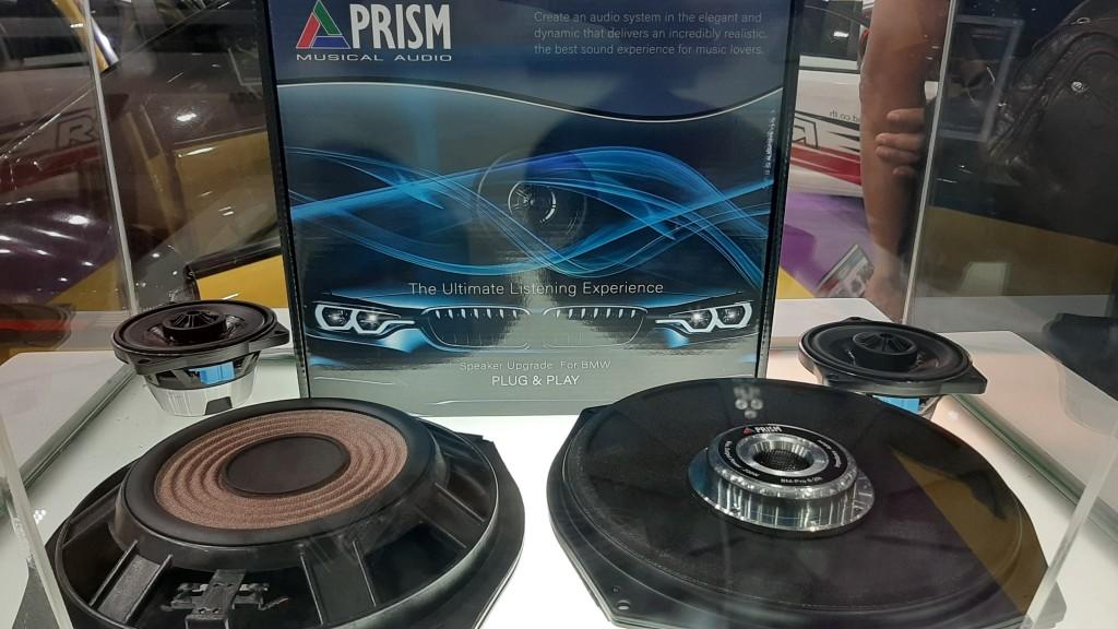 Prism Speaker อัพเกรดลำโพงสำหรับรถ BMW