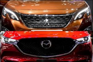 งบไม่ถึง 2 ล้านบาท จะเลือกครอสส์โอเวอร์สัญชาติไหนดี ? ระหว่าง Mazda CX-5/CX-8 หรือ Peugeot 3008/5008