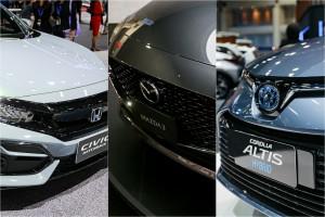 รวมดาว พร้อมจุดเด่น กับ 3 สหาย ซี-เซกเมนท์ ! Honda Civic Hatchback / Mazda 3 / Toyota Corolla Altis Hybrid