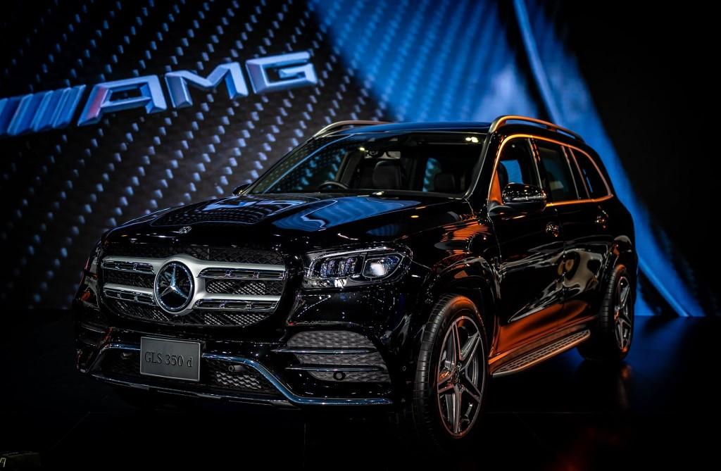 Mercedes-Benz GLS 350 d ดาวเด่น Motor Expo ที่น่าสนใจ