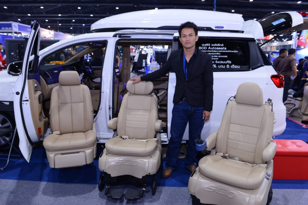 SCD แนะนำเบาะวีลแชร์สำหรับผู้สูงอายุติดตั้งในรถยนต์ มาตรฐานญี่ปุ่น