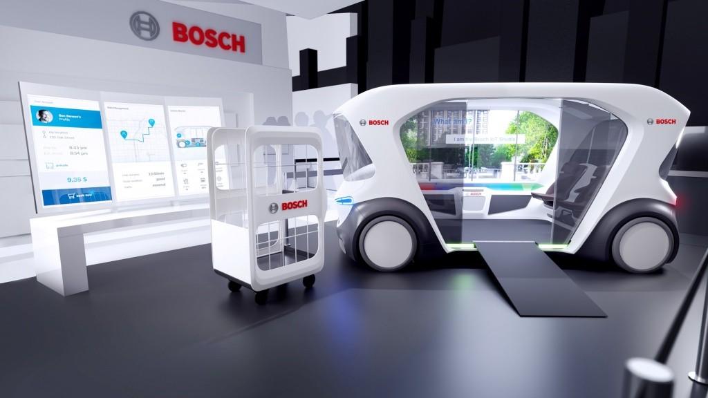 Bosch_IOT shuttle